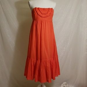 Gap Santa Fe Style Strapped Midi Dress size 6